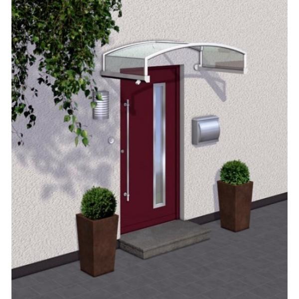Bogenvordach Leipzig aus Aluminium AA509B