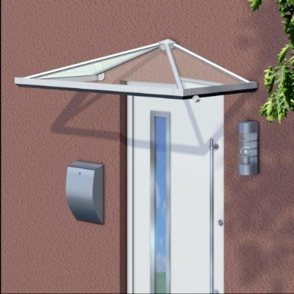 Trapezvordach Haßloch aus Aluminium AAV503T
