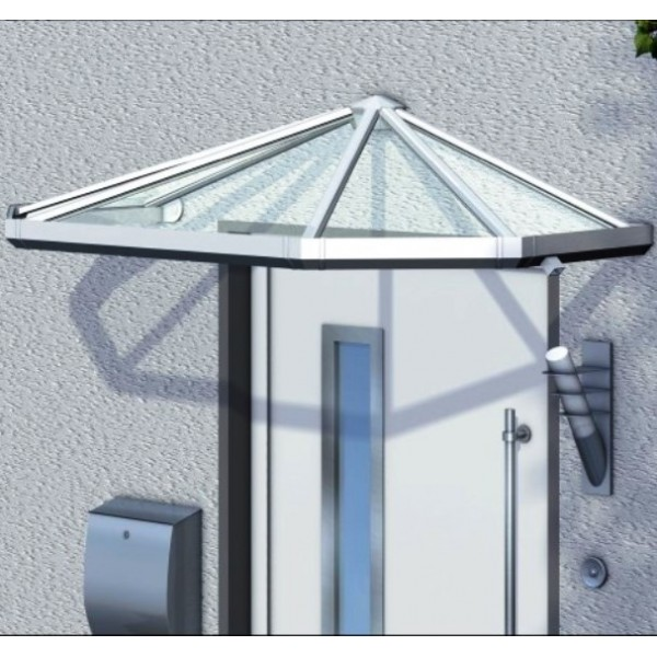 Trapezvordach Badorb aus Aluminium AAV510T