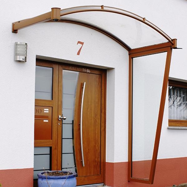 Bogenvordach Köln aus Aluminium AV310B