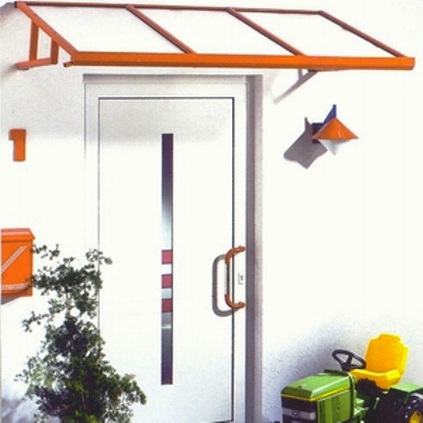 HAKU Pultvordach aus Aluminium Design AAV802P