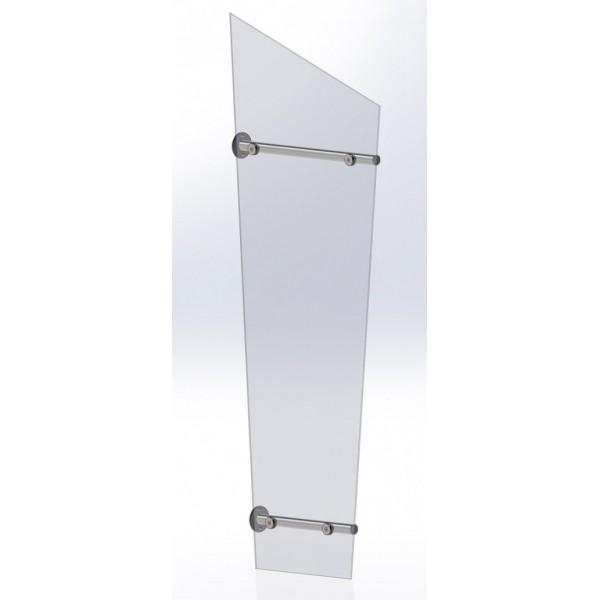Pultvordach Dreieich aus Aluminium AV842P light