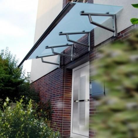 Pultvordach Langenselbold aus Edelstahl EV102P