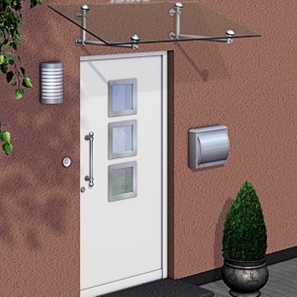 Pultvordach Erfurt aus Edelstahl EV553P