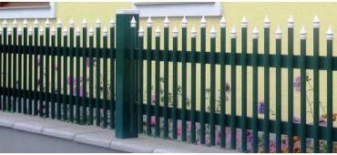 Geländer, Zäune & Tore aus Aluminium